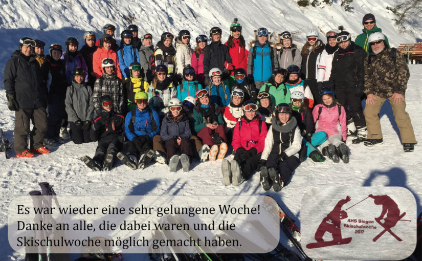 Skischulwoche 2017