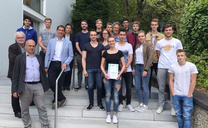 Auszeichnung Sportabzeichen-Wettbewerb 2016