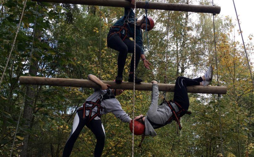 FFA70: Exkursion zum Hochseilgarten Fischbacherberg