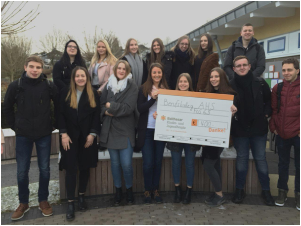 SpendenübergabeKinder- und Jugendhospiz FOS63