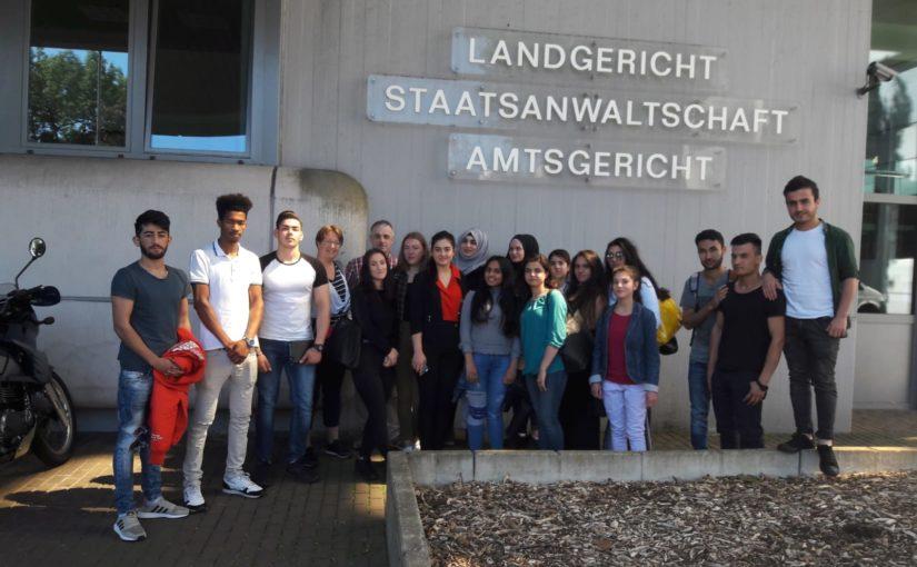 Besuch im Amtsgericht Siegen – IFK 71/72