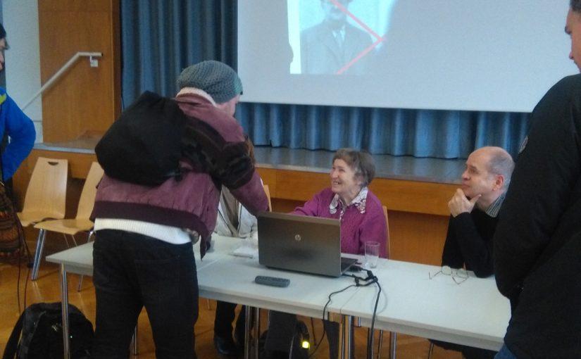 Wertvolle Schulbegegnung mit einer Überlebenden des Konzentrationslagers Theresienstadt
