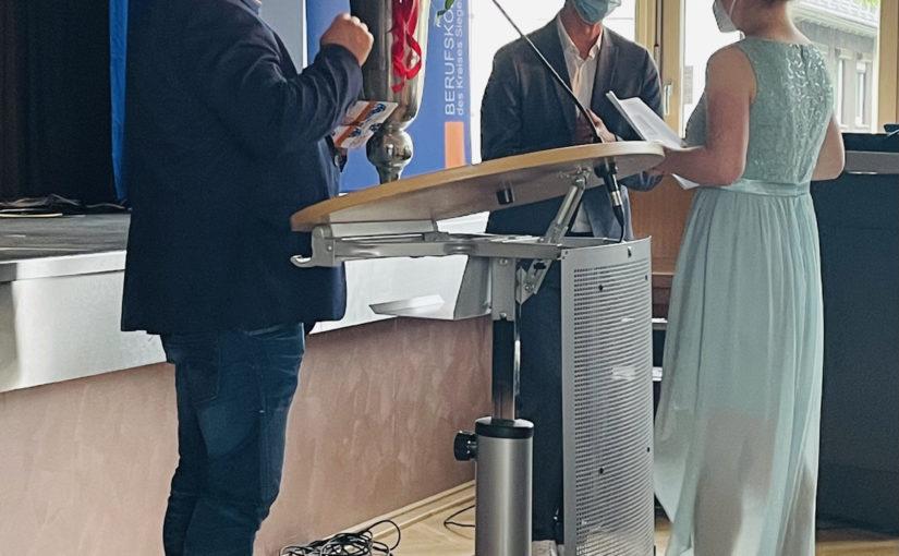 Abiturfeier 2021 am Berufskolleg AHS –  mit Landrat Andreas Müller