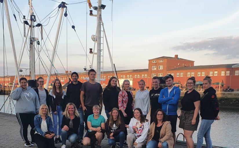 Studienfahrt der Klasse FSP 9i (Praxisintegrierte ErzieherInnenausbildung)nach Cuxhaven